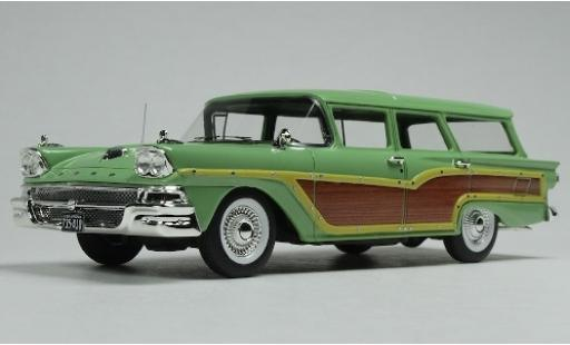 Ford Country Squire 1/43 Goldvarg Collections verte/Holzoptik 1958 miniature