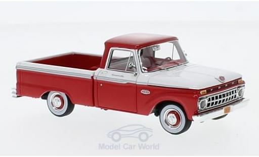 Ford F-1 1/43 Goldvarg Collections 00 Pick Up rouge/blanche 1965 miniature