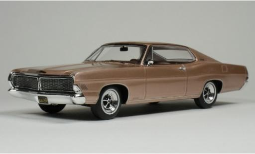 Ford Galaxy 1/43 Goldvarg Collections Galaxie 500 XL metallise pink 1968