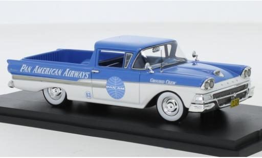 Ford Ranchero 1/43 Goldvarg Collections Pan American Airways 1958 miniature