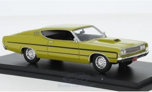 Ford Torino 1/43 Goldvarg Collections jaune 1969 miniature