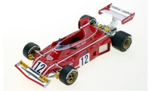 Ferrari 312 1/43 GP Replicas B3 No.12 Scuderia Formel 1 1974 N.Lauda miniature