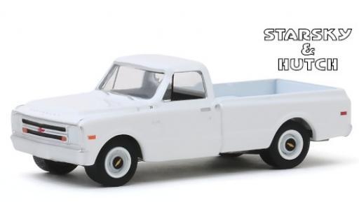 Chevrolet C-10 1/64 Greenlight blanche Starsky & Hutch 1968 miniature