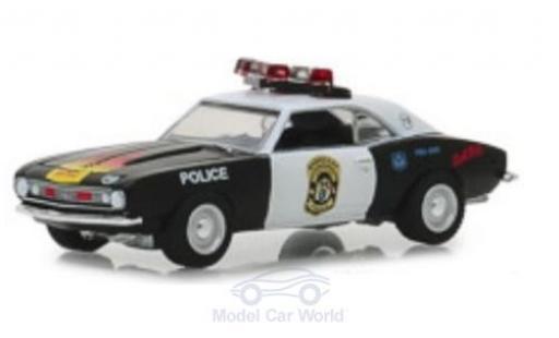 Chevrolet Camaro 1/64 Greenlight Custom Barnegat Township Police Department 1967 modellautos