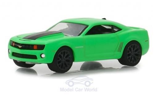 Chevrolet Camaro 1/64 Greenlight SS verte/noire Turtle Wax 2012 miniature