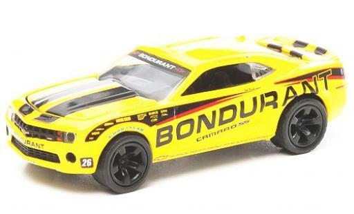 Chevrolet Camaro 1/64 Greenlight Super Sport yellow/Dekor Bondurant 2011 diecast model cars