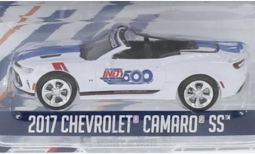 Chevrolet Camaro 1/64 Greenlight white 2017 101 Running Indy 500 diecast model cars