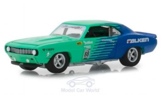 Chevrolet Camaro Z28 1/64 Greenlight Falken 1969 miniature