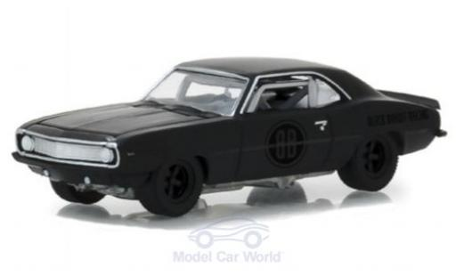 Chevrolet Camaro Z28 1/64 Greenlight Z/28 matt-noire 1969 Black Bandit Trans Am Racing Team miniature
