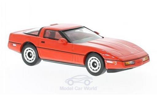 Chevrolet Corvette C4 1/43 Greenlight red The Big Lebowski Little Larry Sellars 1985 diecast model cars