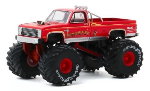 Chevrolet Silverado 1/64 Greenlight Monster Truck Nitemare II 1986 miniature
