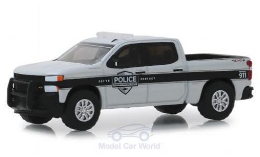 Chevrolet Silverado 1/64 Greenlight SSV General Motors Fleet Police 2019 miniature