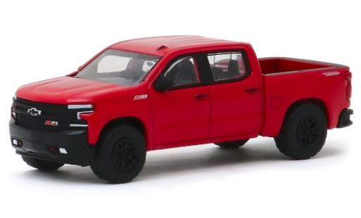 Chevrolet Silverado 1/64 Greenlight Trail Boss rouge 2019 miniature