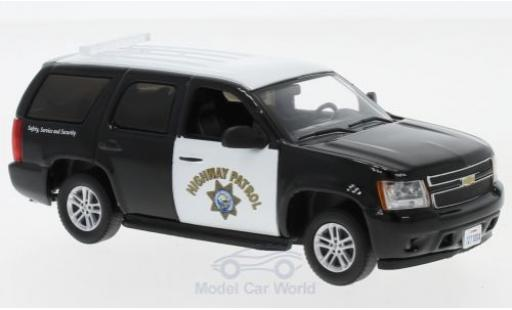 Chevrolet Tahoe 1/43 Greenlight nero/bianco California Highway Patrol 2012 miniatura