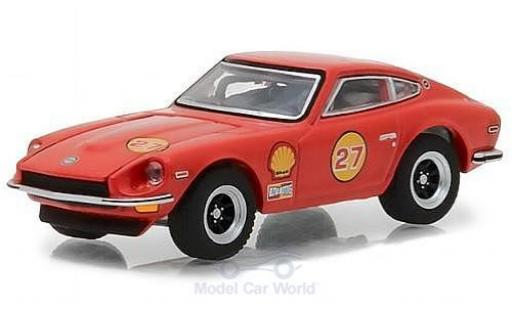 Datsun 240Z 1/64 Greenlight Shell 1971 miniature
