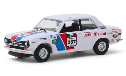 Datsun 510 1/64 Greenlight No.267 Carrera Panamericana 1972 miniature