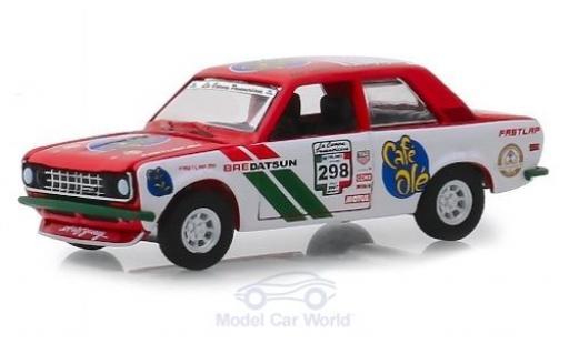 Datsun 510 1/64 Greenlight No.298 Café Olé La Carrera Panamericana 1972 miniature