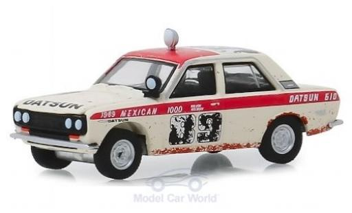 Datsun 510 1/64 Greenlight No.89 BRE Baja 1000 1969 miniature