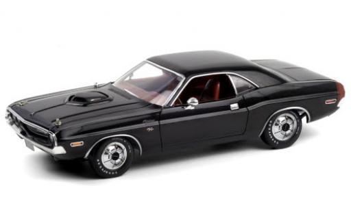 Dodge Challenger 1/18 Greenlight R/T 440 6-Pack noire 1970 miniature