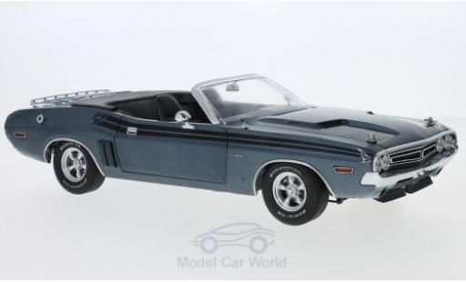 Dodge Challenger 1970 1/18 Greenlight R/T Convertible metallic blue 1970 diecast