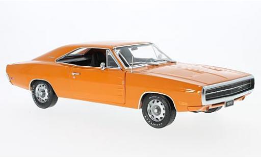 Dodge Charger 1/18 Greenlight 500 orange 1970 diecast model cars