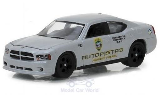 Dodge Charger 1/64 Greenlight Pursuit Autopistas Highway Patrol 2008 modellautos