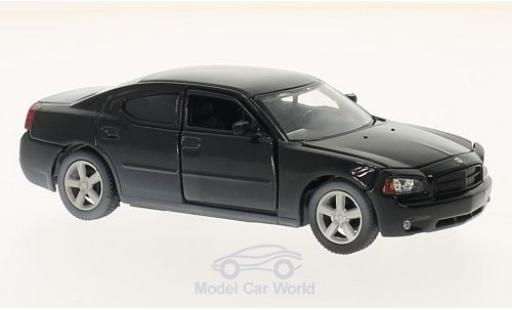 Dodge Charger Police 1/43 Greenlight nero The Walking Dead 2006 Daryl Dixons Police miniatura