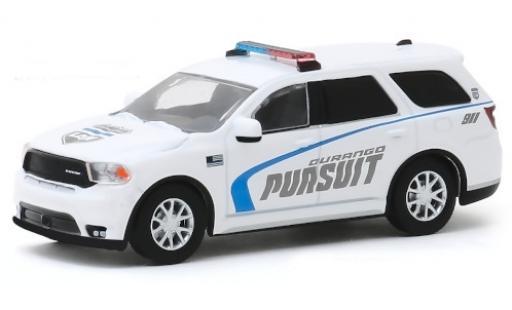 Dodge Durango 1/64 Greenlight Pursuit Law 2019 miniature
