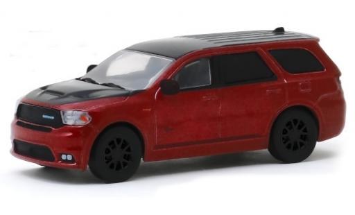 Dodge Durango 1/64 Greenlight SRT metallise rouge/noire Law 2018 MOPAR miniature