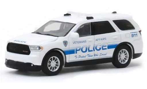 Dodge Durango 1/64 Greenlight Veterans Affairs Police 2018 miniature