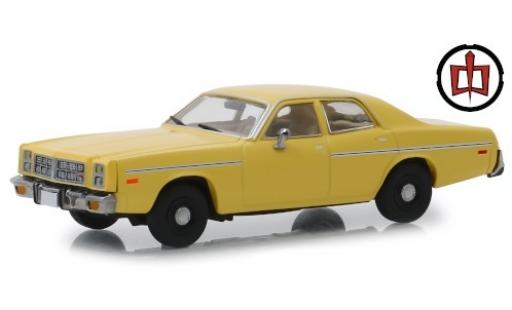 Dodge Monaco 1/43 Greenlight jaune The Greatest American Hero 1978 miniature