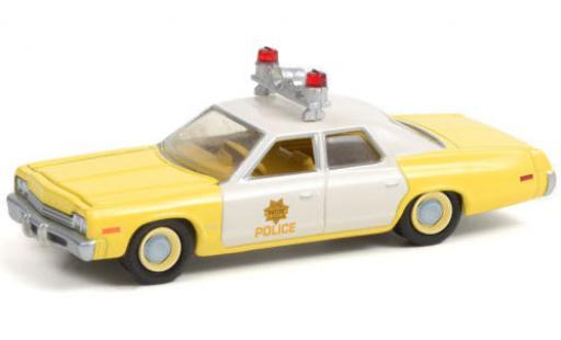 Dodge Monaco 1/64 Greenlight Las Vegas Metropolitan Police 1974 miniature