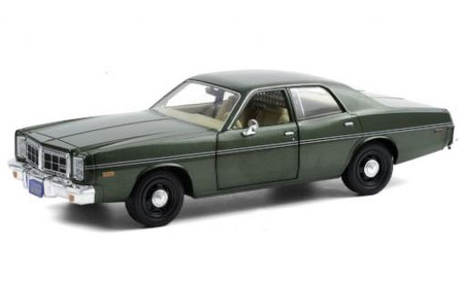 Dodge Monaco 1/24 Greenlight metallise verte 1977 Hunter (TV-s�rie 1984-91) miniature