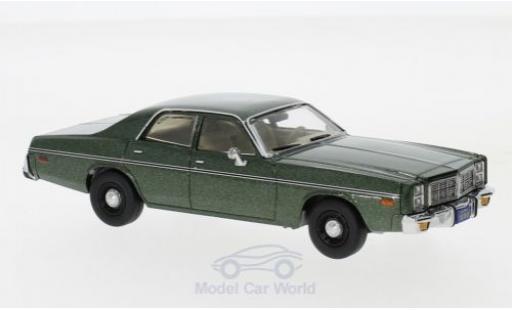Dodge Monaco 1978 1/43 Greenlight metallic-dunkelgrün Hunter 1978 diecast