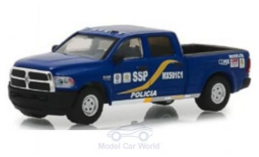 Dodge RAM 1/64 Greenlight 2500 Mexico City 2017 miniature