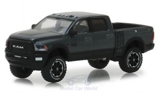 Dodge RAM 1/64 Greenlight 2500 Power Wagon metallic grey/black 2018 diecast
