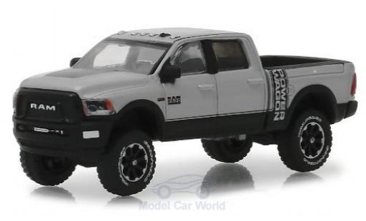 Dodge RAM 1/64 Greenlight 2500 Power Wagon metallise grise/noire 2018 miniature
