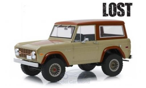 Ford Bronco 1/18 Greenlight beige/brown Lost (TV Serie) 1970 diecast
