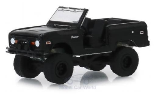 Ford Bronco 1/64 Greenlight black 1969 diecast