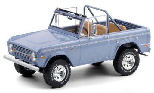 Ford Bronco 1/18 Greenlight Sport metallise blue 1969