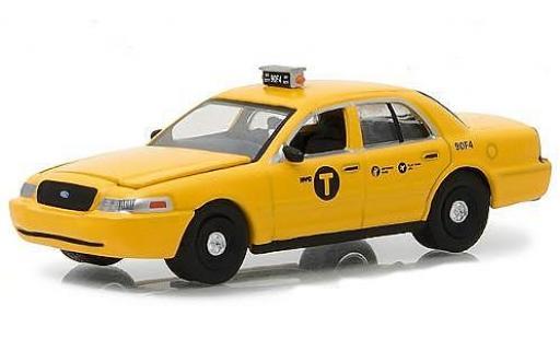 Ford Crown 1/64 Greenlight Victoria jaune Film John Wick 2008 miniature