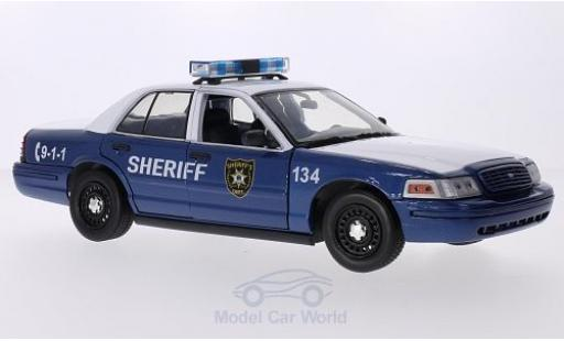 Ford Crown 1/18 Greenlight Victoria Police Interceptor 2010 The Walking Dead miniature