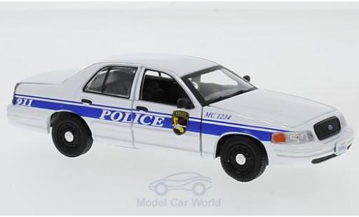 Ford Crown 1/43 Greenlight Victoria Police Interceptor MacGyver 2003 miniature