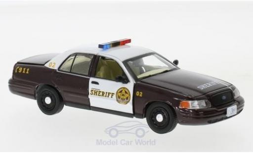 Ford Crown 1/43 Greenlight Victoria Police Interceptor Once upon a time 2005 miniature