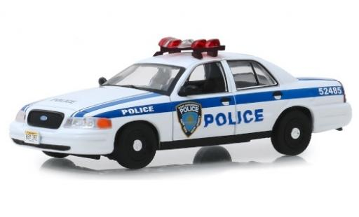 Ford Crown 1/43 Greenlight Victoria Police Interceptor Port Authority of New York & New Jersey 2003 miniature