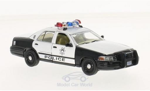 Ford Crown 1/43 Greenlight Victoria Police Interceptor noire/blanche The Hangover 2009 2000 miniature