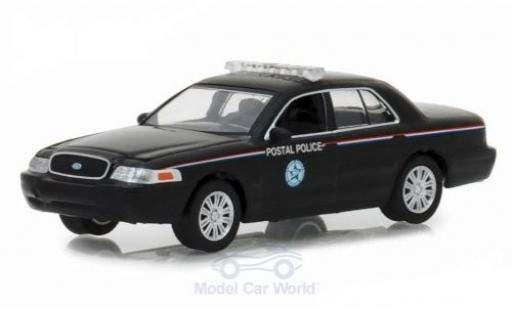 Ford Crown 1/64 Greenlight Victoria Police Interceptor United States Postal Service 2010 diecast model cars