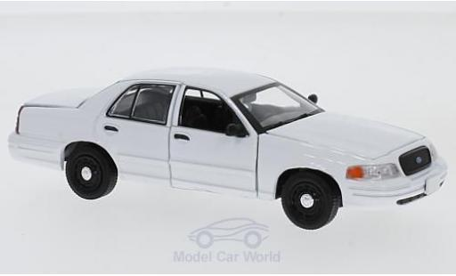 Ford Crown 1/43 Greenlight Victoria Police Interceptor white diecast model cars