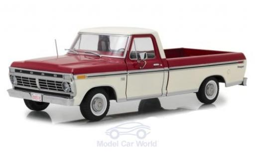 Ford F-1 1/18 Greenlight 00 rouge/blanche 1973 miniature