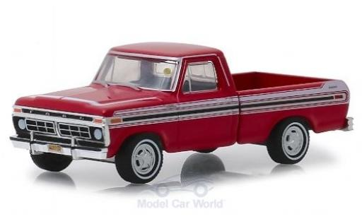 Ford F-1 1/64 Greenlight 00 Explorer rouge/blanche 1977 miniature